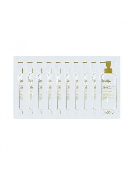 [PURITO_SP] From Green Cleansing Oil Testers - 10pcs (1.3g x 10pcs)
