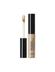 [THE SAEM_50% Sale] Cover Perfection Tip Concealer - 6.5g #01 Clear Beige