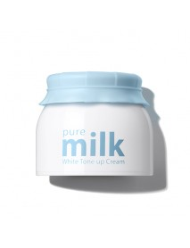 [THE SAEM] Pure Milk White Tone Up Cream - 50ml